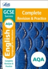 Image for AQA GCSE English language and English literature complete revision & practice
