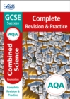 Image for AQA GCSE combined science foundation complete revision & practice
