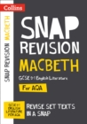 Image for Macbeth  : AQA GCSE English literature