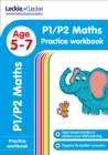 Image for P1/P2 Maths Practice Workbook : Extra Practice for Cfe Primary School English