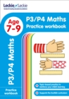 Image for P3/P4 Maths Practice Workbook : Extra Practice for Cfe Primary School English