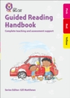 Image for Guided reading handbook  : complete teaching and assessment supportPink to red