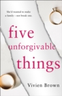 Image for Five unforgivable things