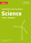 Image for Cambridge lower secondary scienceStage 7,: Workbook