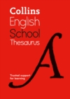 Image for Collins English school thesaurus
