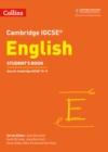 Image for Cambridge IGCSE EnglishStudent's book