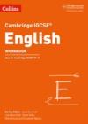 Image for Cambridge IGCSE English workbook