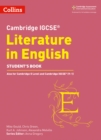 Image for Cambridge IGCSE literature in EnglishStudent's book