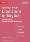 Image for Cambridge IGCSE literature in English: Teacher's guide