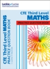 Image for MathsCfE third level,: Pactice question book
