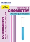 Image for National 5 chemistry practice question book