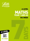 Image for A-level maths year 1 (and AS) in a week