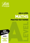 Image for Letts AQA A-level maths: Practice test papers