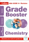 Image for AQA GCSE chemistry grade booster for grades 3-9