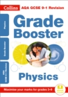 Image for AQA GCSE physics grade booster for grades 3-9