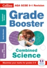 Image for AQA GCSE combined science grade booster for grades 3-9