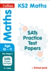 Image for KS2 maths SATs practice test papers (school pack)  : 2018 tests