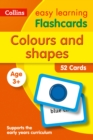 Image for Colours and Shapes Flashcards : Ideal for Home Learning