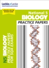 Image for National 5 biology practice exam papers