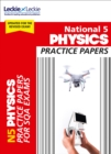 Image for National 5 physics practice exam papers