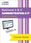 Image for National 4/5 administration and IT course notes