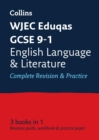 Image for WJEC Eduqas GCSE English language and English literature all-in-one revision and practice