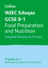 Image for WJEC EDUQAS GCSE food preparation and nutrition all-in-one revision and practice