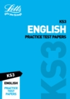 Image for KS3 English practice test papers