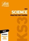 Image for KS3 science practice test papers