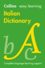 Image for Collins Italian dictionary  : easy learning
