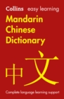Image for Easy learning Mandarin Chinese dictionary