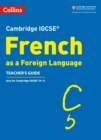 Image for French as a foreign language: Teacher's guide