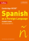 Image for Cambridge IGCSE Spanish as a foreign language,: Student's book