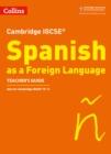 Image for Cambridge IGCSE Spanish: Teacher's guide