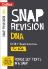 Image for DNA  : AQA GCSE 9-1 English literature text guide