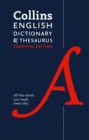 Image for Collins English Dictionary and Thesaurus Essential : All the Words You Need, Every Day