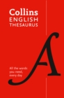 Image for Collins English thesaurus  : all the words you need, every day