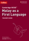 Image for Cambridge IGCSE Malay as a first language: Teacher's guide