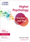 Image for Practise and pass CfE higher psychology