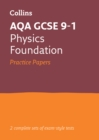 Image for AQA GCSE 9-1 physics foundation practice test papers