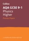 Image for AQA GCSE 9-1 physics higher practice test papers