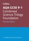 Image for AQA GCSE 9-1 combined science foundation practice test papers