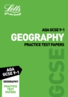 Image for AQA GCSE 9-1 geography: Practice test papers