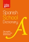 Image for Collins Spanish school gem dictionary