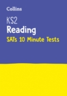 Image for KS2 English reading SATs 10-minute tests  : for the 2019 tests