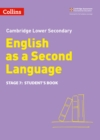 Image for Lower secondary English as a second languageStage 7,: Student's book
