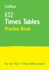 Image for KS2 times tables practice book  : 2020 tests