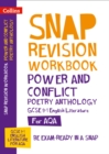 Image for Power & conflict poetry anthology  : new GCSE grade 9-1 English Literature AQA: Workbook