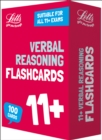 Image for 11+ Verbal Reasoning Flashcards : For the 2020 Tests