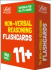 Image for 11+ Non-Verbal Reasoning Flashcards : For the 2020 Tests